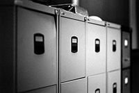 Business Documents in file cabinets